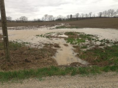 Farm runoff no conservation